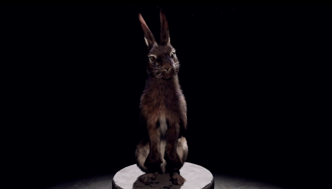 Motion capture by Noitom used in virtual reality PETA experience