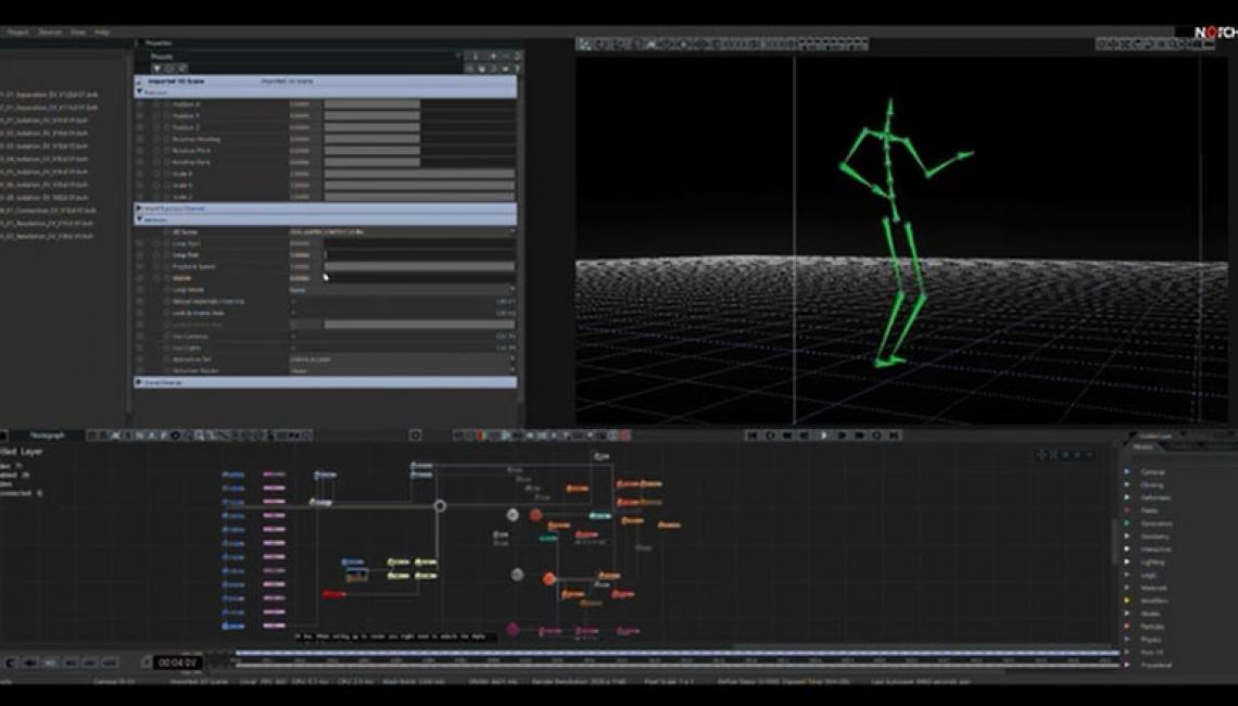 Isolation is a collaborative project created with Perception Neuron motion capture and Notch vfx software.