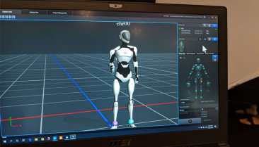 Perception Neuron Studio motion capture software interface.