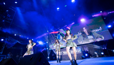 Korean pop band AKB48 performs with a Perception Neuron motion capture suit.