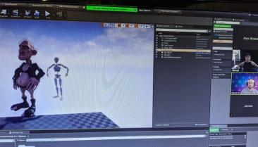 Perception Neuron makes it possible to share mocap data remotely from location to location.