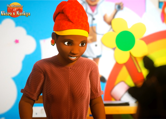 Motion capture animated series Nkoza and Nankya created with Perception Neuron